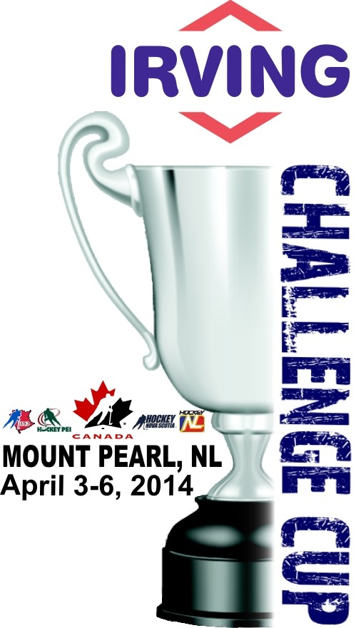 Irving Oil Challenge Cup Logo 2014 Mount Pearl NF