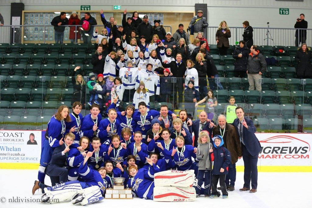 doody scores quickly into overtime tri com thunder claim the bantam aaa provincials hockeynl. Black Bedroom Furniture Sets. Home Design Ideas